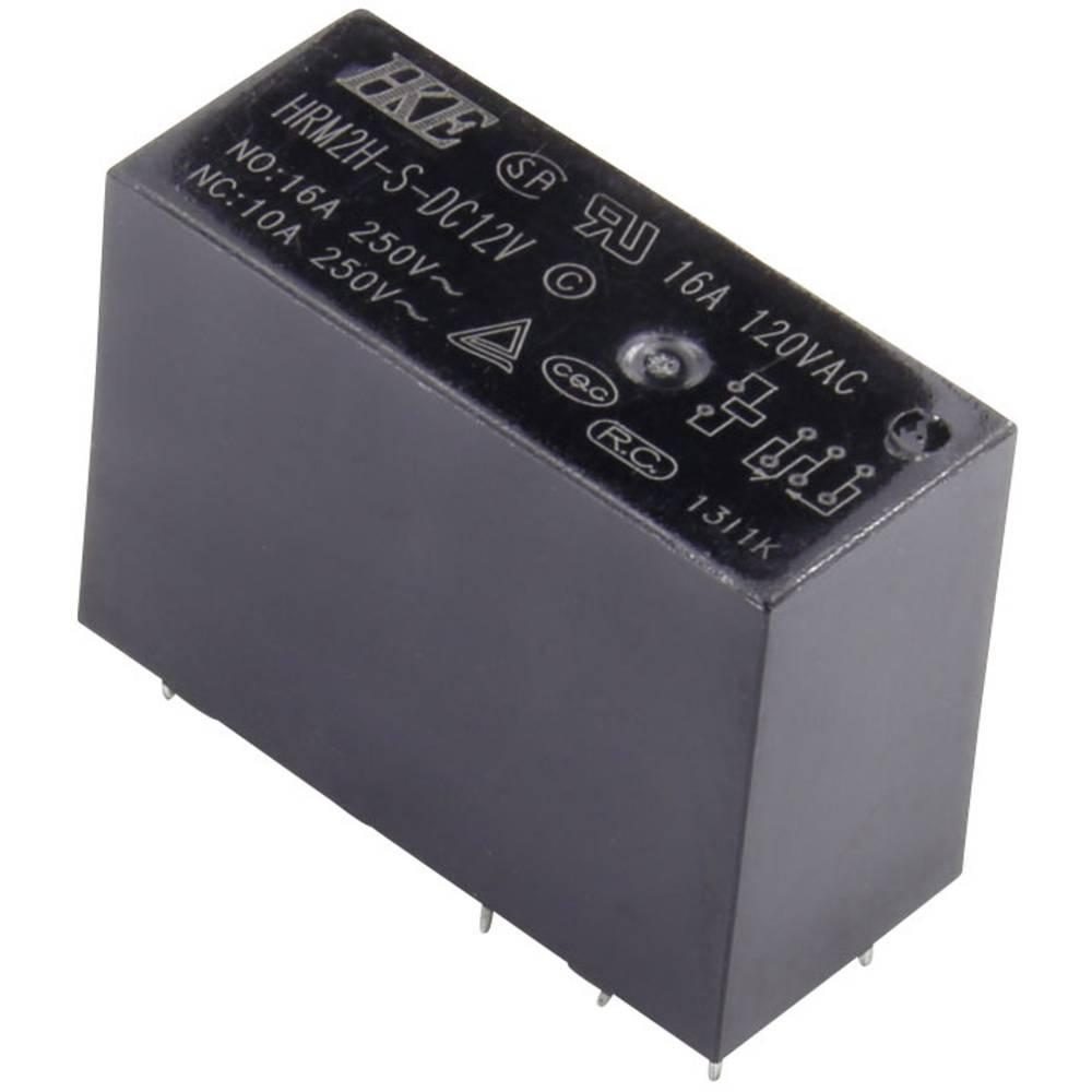 HKE HRM2H-S-DC12V-C rele za tiskano vezje 12 V/DC 16 A 1 menjalo 1 kos