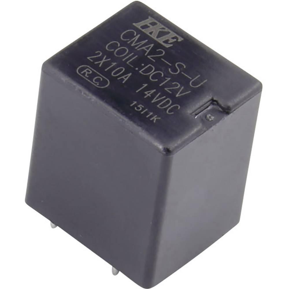 Kfz-Relais (value.1292934) 12 V/DC 10 A 2 Schließer (value.1345272) HKE CMA2-S-DC12V-U