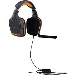 Gaming-headset Logitech Gaming G231 Prodigy Over Ear Svart/orange