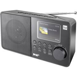 Dual DAB 18 C prenosni radio dab+, ukw črna