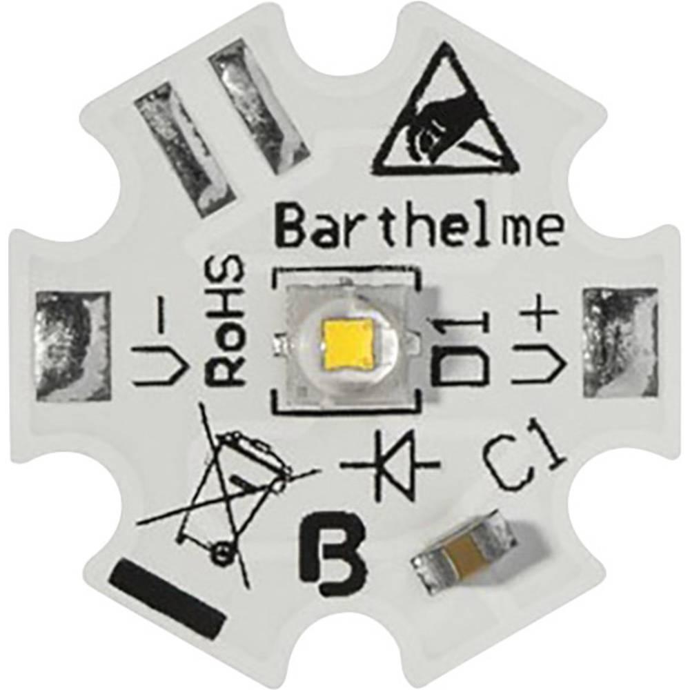 HighPower LED topla bela 6 W 510 lm 130 ° 1800 mA Barthelme 61003528
