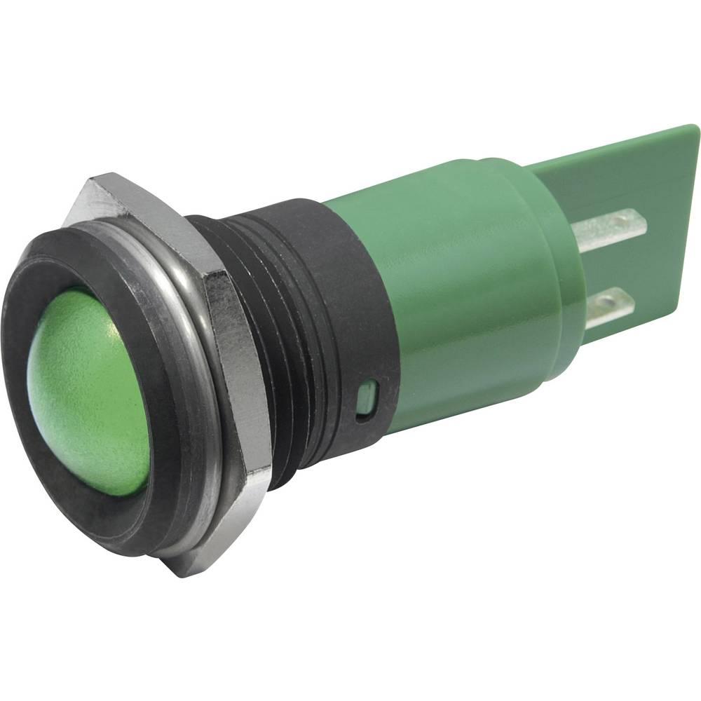 LED-Signalleuchte (value.1317401) CML 195E1237M 230 V/AC 4 mA Blå