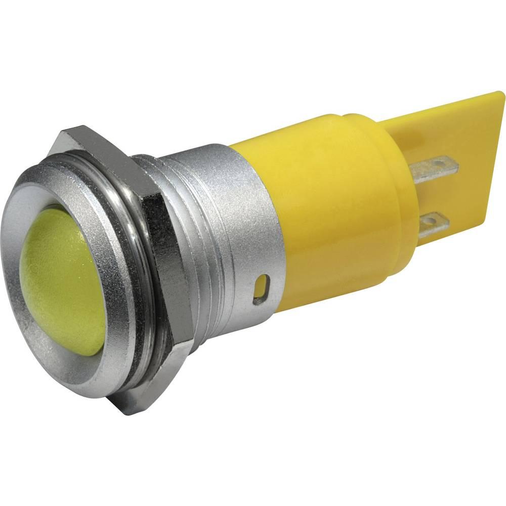 LED-Signalleuchte (value.1317401) CML 195E2230M 230 V/AC 4 mA Rød