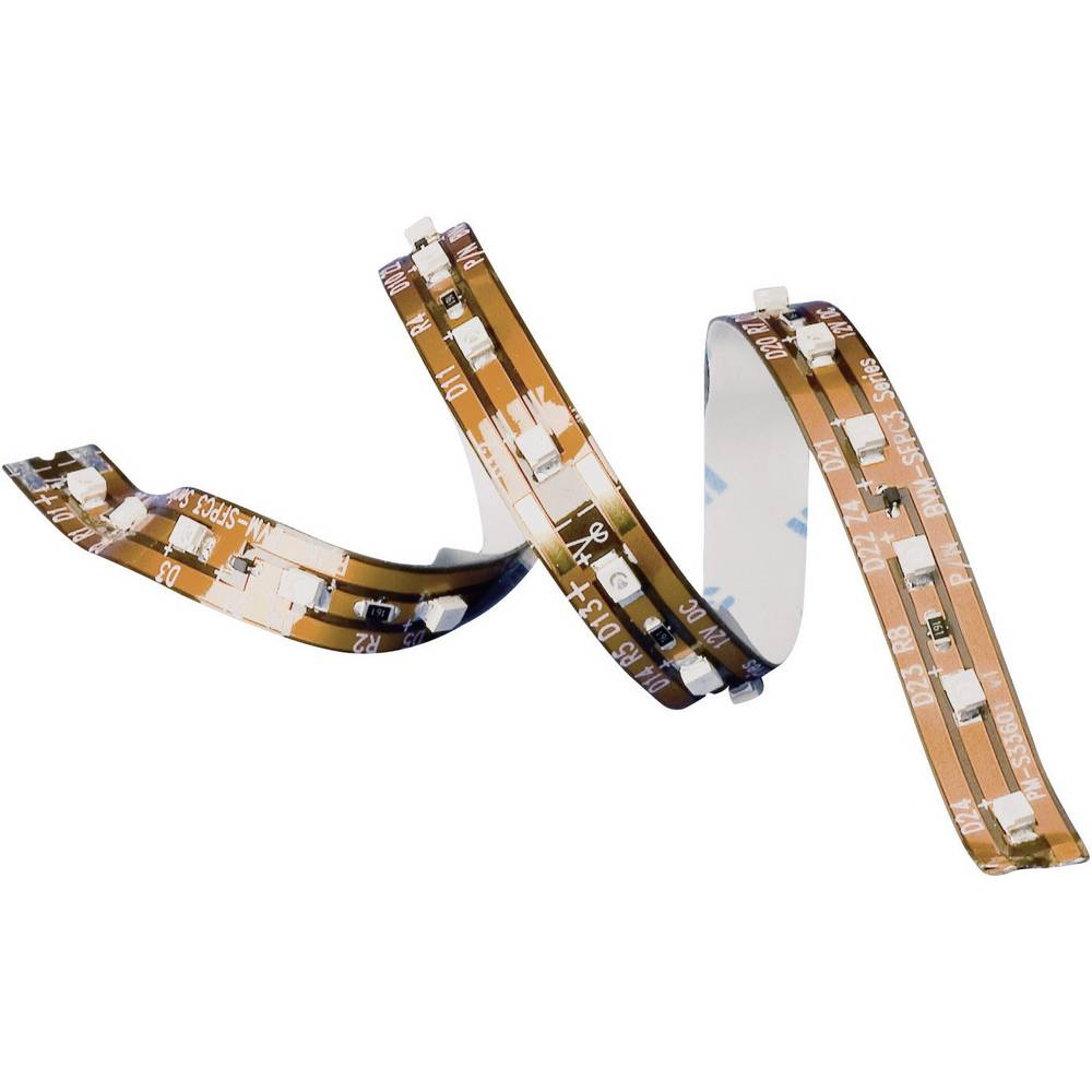 LED trak z odprtim koncem kabla 12 V 16.8 cm hladno bela 150689