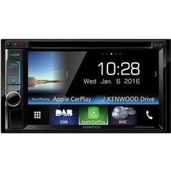 Dobbelt-DIN Moniceiver Kenwood DDX8016DABS DAB+ tuner, AppRadio, Håndfrit Bluetooth®-system, Tilslutning til bagkamera, Tilslutn