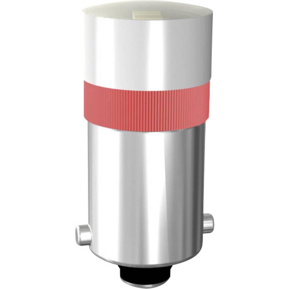 LED žarnica BA9s rumena 24 V/DC, 24 V/AC Signal Construct MWCB22149