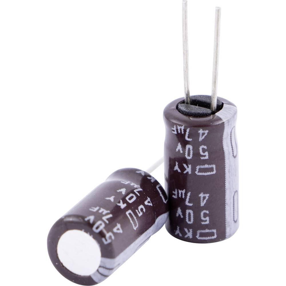Elektrolitski kondenzator, radijalno ožičen 2 mm 2.2 µF 50 V 20 % (promjer x V) 5 mm x 11 mm Europe ChemiCon EKY-500ELL2R2