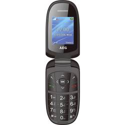 AEG M1500 preklopni-mobilni telefon črne barve