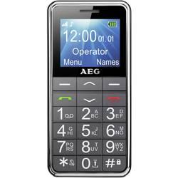 AEG SM250 mobilni telefon za starejše, črne barve