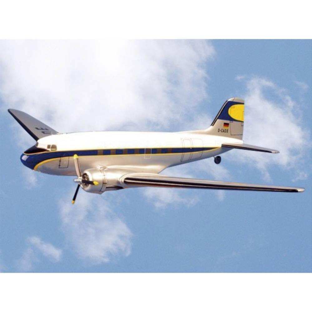 VQ Douglas DC-3 Bela, Modra RC Model motornega letala ARF 1800 mm
