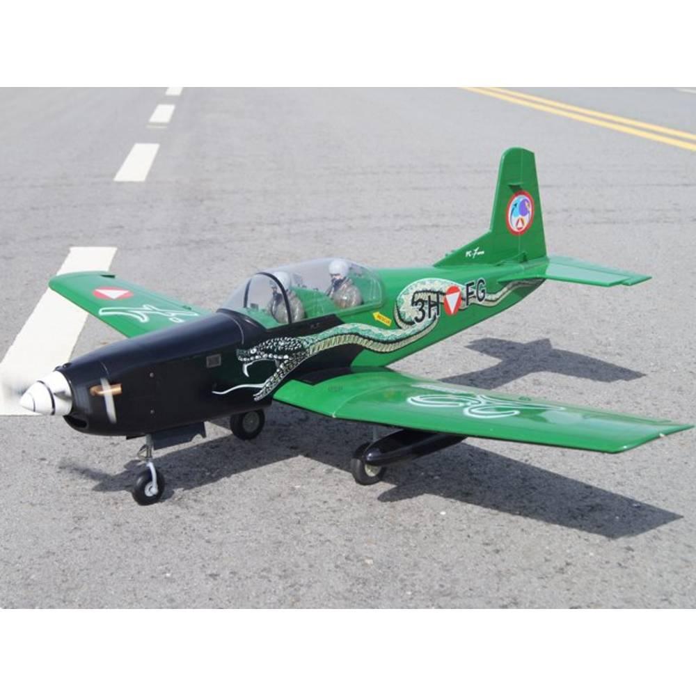 VQ Pilatus PC-7 (Austria) RC Model motornega letala ARF 1540 mm