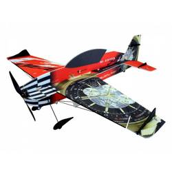 RC Factory Extra 330 Superlite rdeča rc mini model letal za uporabo v zaprtem prostoru komplet za sestavljanje 840 mm