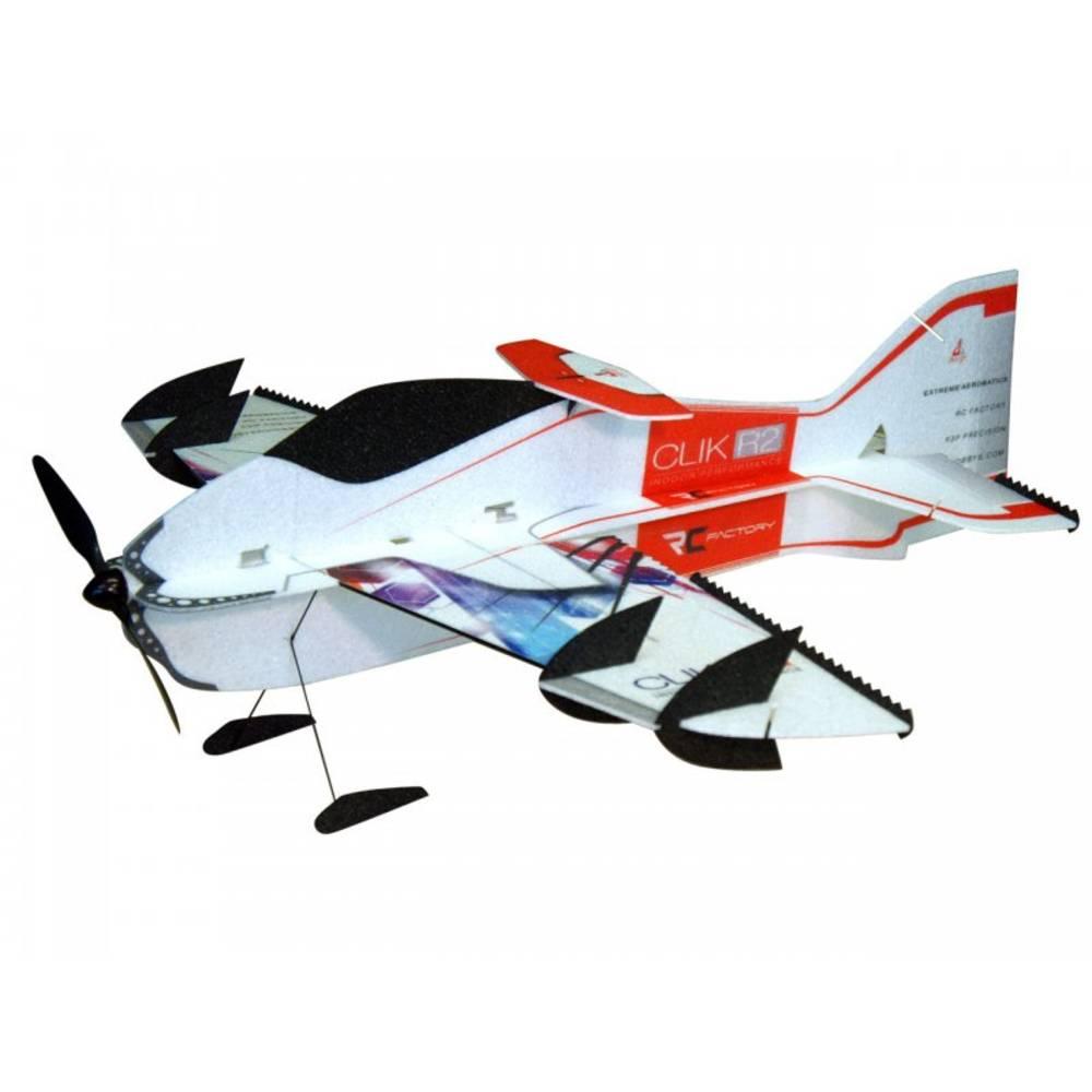 RC Factory Clik R2 Superlite (Combo) rdeča RC mini model letal za uporabo v zaprtem prostoru PNP 840 mm
