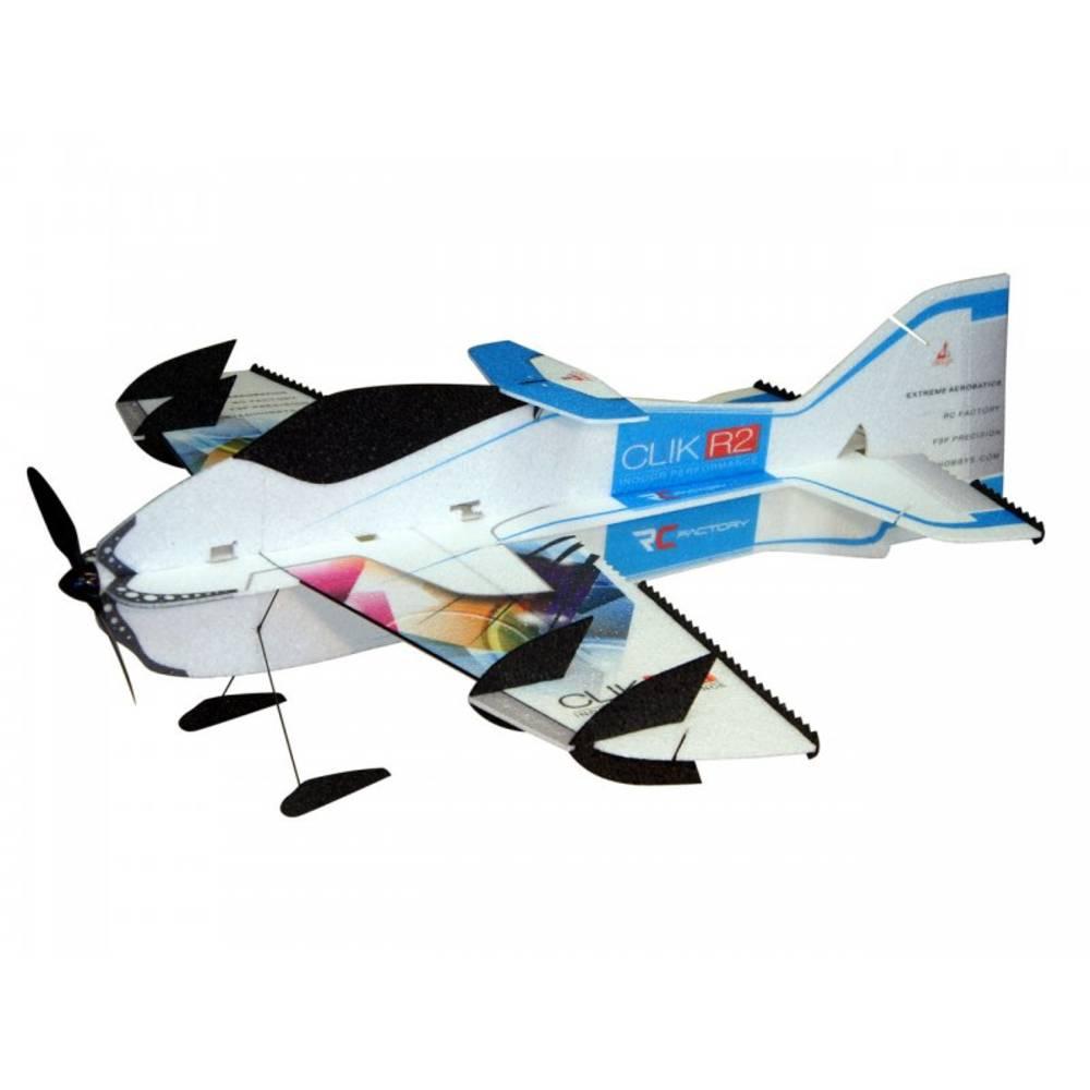 RC Factory Clik R2 Superlite (Combo) Modra RC mini model letal za uporabo v zaprtem prostoru PNP 840 mm
