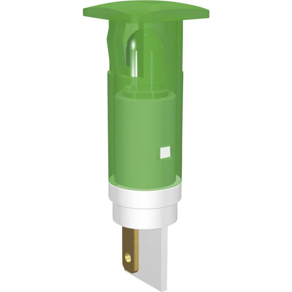 LED signalna lučka, ultra zelena, puščica 230 V/AC Signal Construct SKIU10728