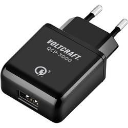 USB polnilnik vtičnica VOLTCRAFT QCP-3000 izhodni tok (maks.) 3000 mA 1 x USB Qualcomm Quick Charge 3.0