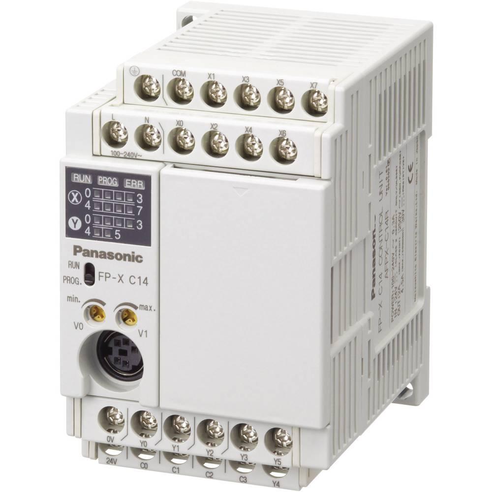 SPS razširitveni modul Panasonic AFPXC14RDJ 24 V/DC