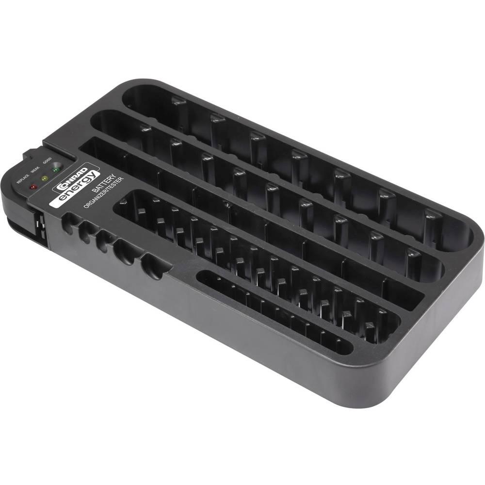 Komplet različitih baterija Micro (AAA), Mignon (AA), Baby (C), Mono (D), 9 V Block, CR 927, CR 2032, LR 44 Conrad energy Box