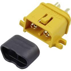 Akumulatorski vtič XT60L pozlačen 1 kos Reely