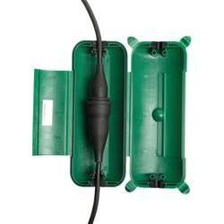 Heitronic 21045 kutija s priključkom zelena