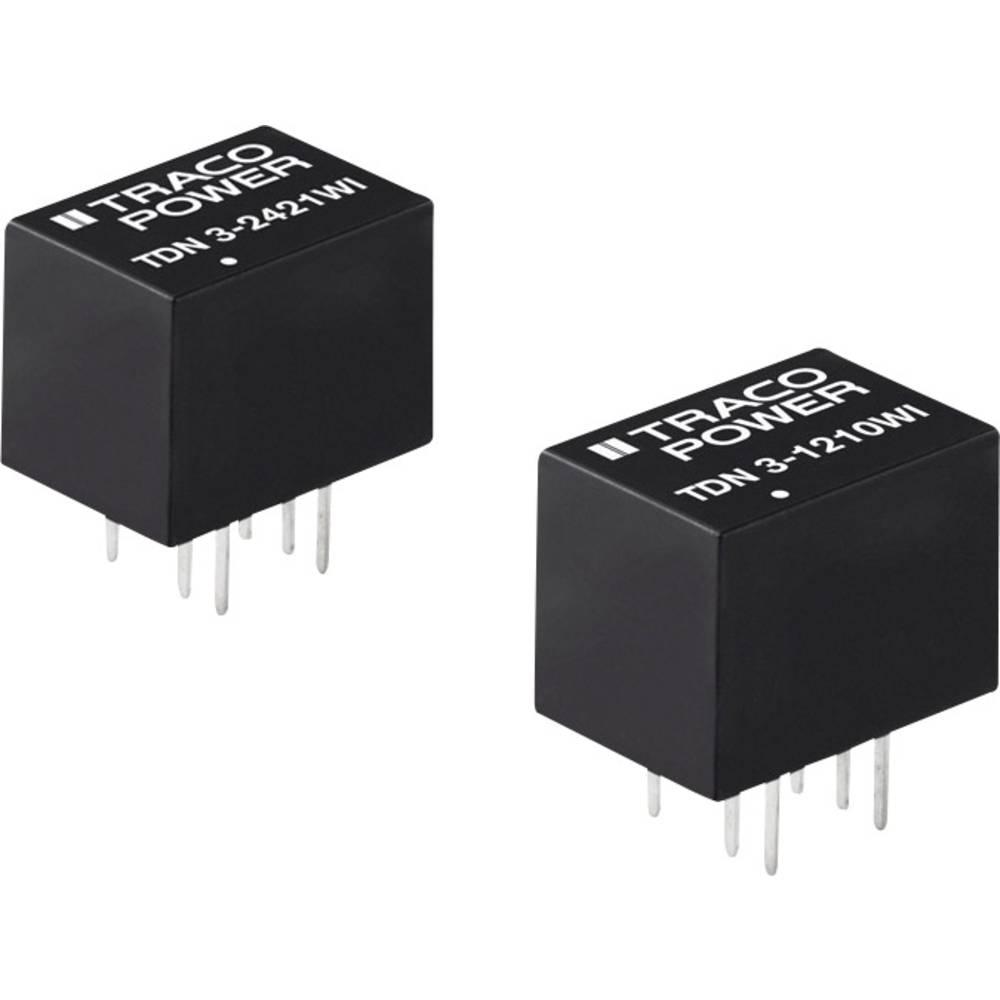 DC/DC pretvornik za tiskano vezje TracoPower TDN 3-1213WI 12 V/DC 200 mA 3 W št. izhodov: 1 x
