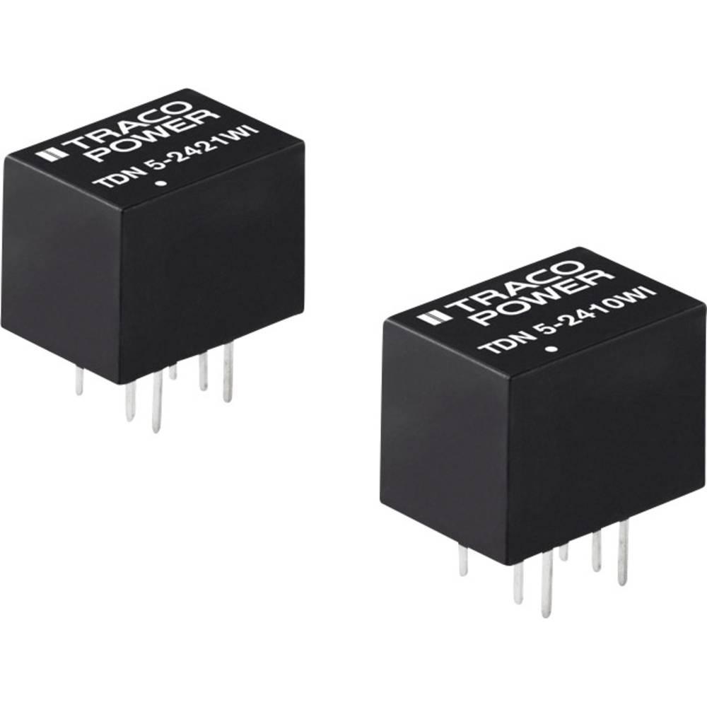DC/DC pretvornik za tiskano vezje TracoPower TDN 5-4815WI 48 V/DC 210 mA 5 W št. izhodov: 1 x