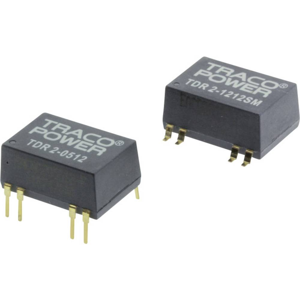 DC/DC pretvornik za tiskano vezje TracoPower TDR 2-4822 48 V/DC 83 mA 2 W št. izhodov: 2 x