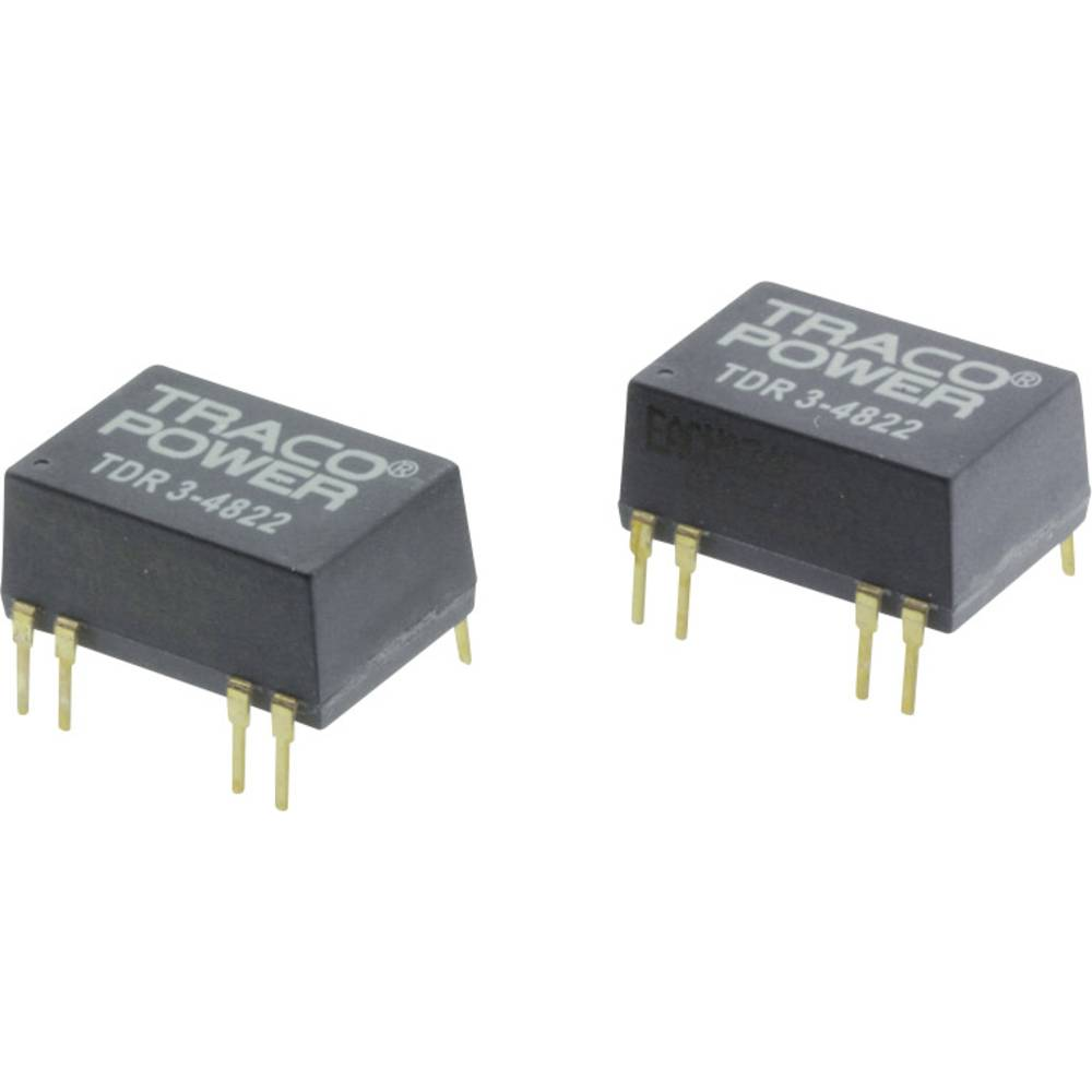 DC/DC pretvornik za tiskano vezje TracoPower TDR 3-2413 24 V/DC 200 mA 3 W št. izhodov: 1 x