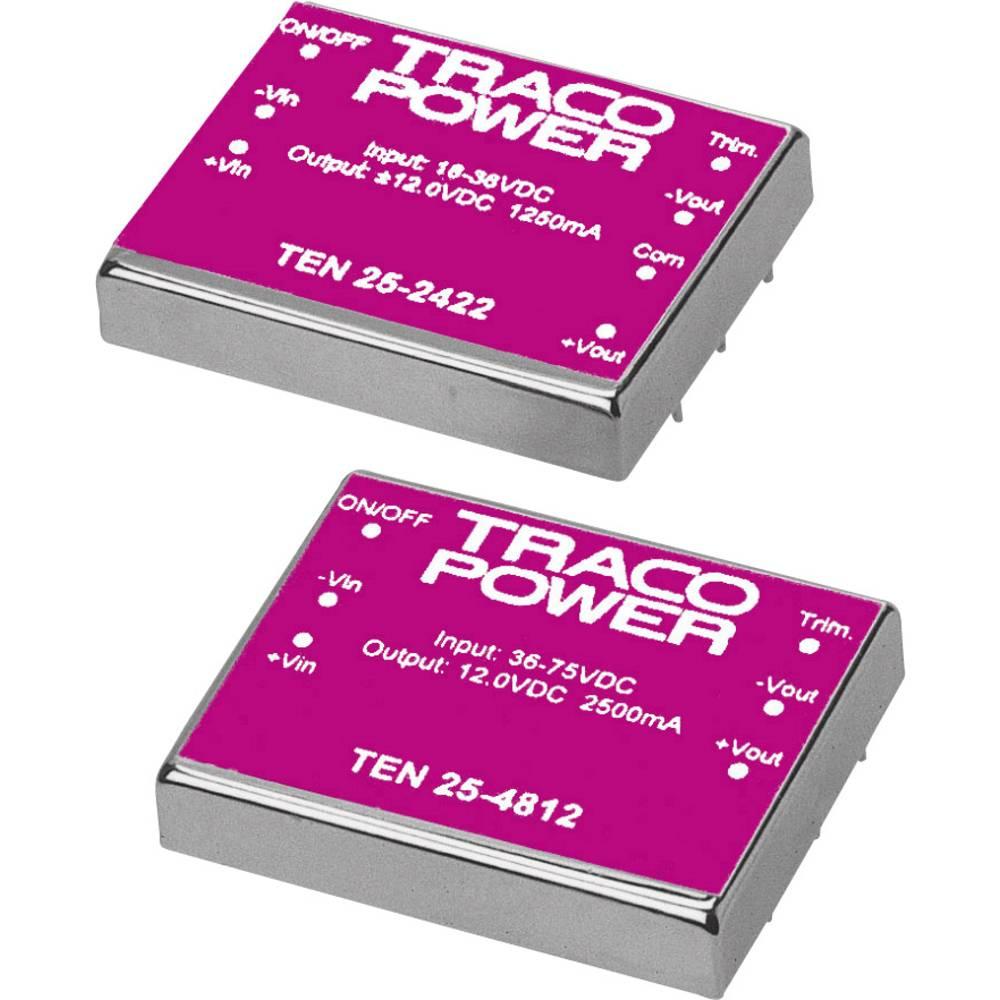 DC/DC pretvornik za tiskano vezje TracoPower TEN 25-1213 12 V/DC 2000 mA 25 W št. izhodov: 1 x