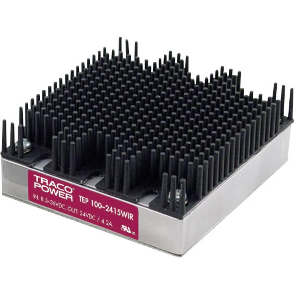 DC/DC pretvornik za tiskano vezje TracoPower TEP 100-2412WIR 24 V/DC 8400 mA 100 W št. izhodov: 1 x