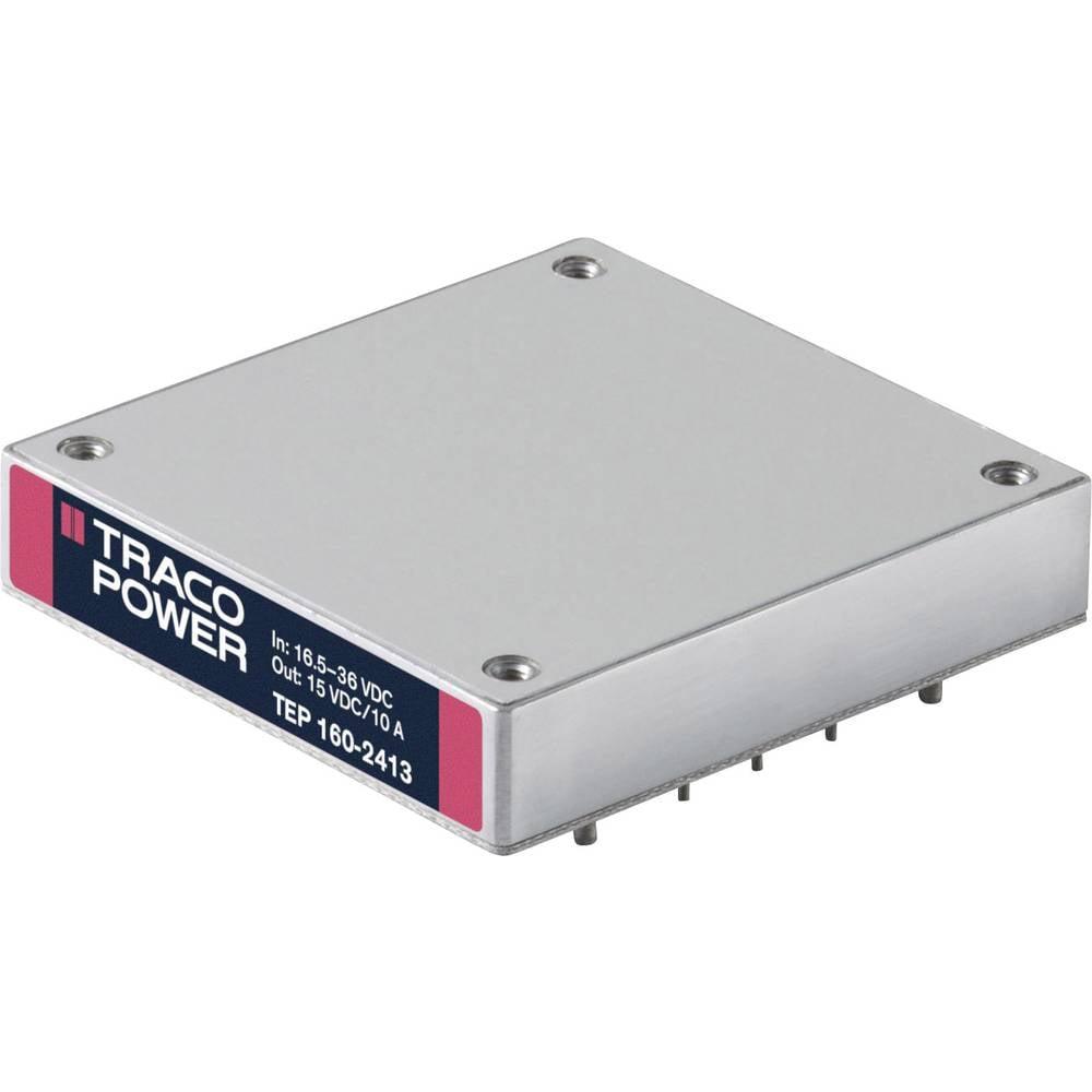 DC/DC pretvornik za tiskano vezje TracoPower TEP 160-2418 24 V/DC 3300 mA 160 W št. izhodov: 1 x