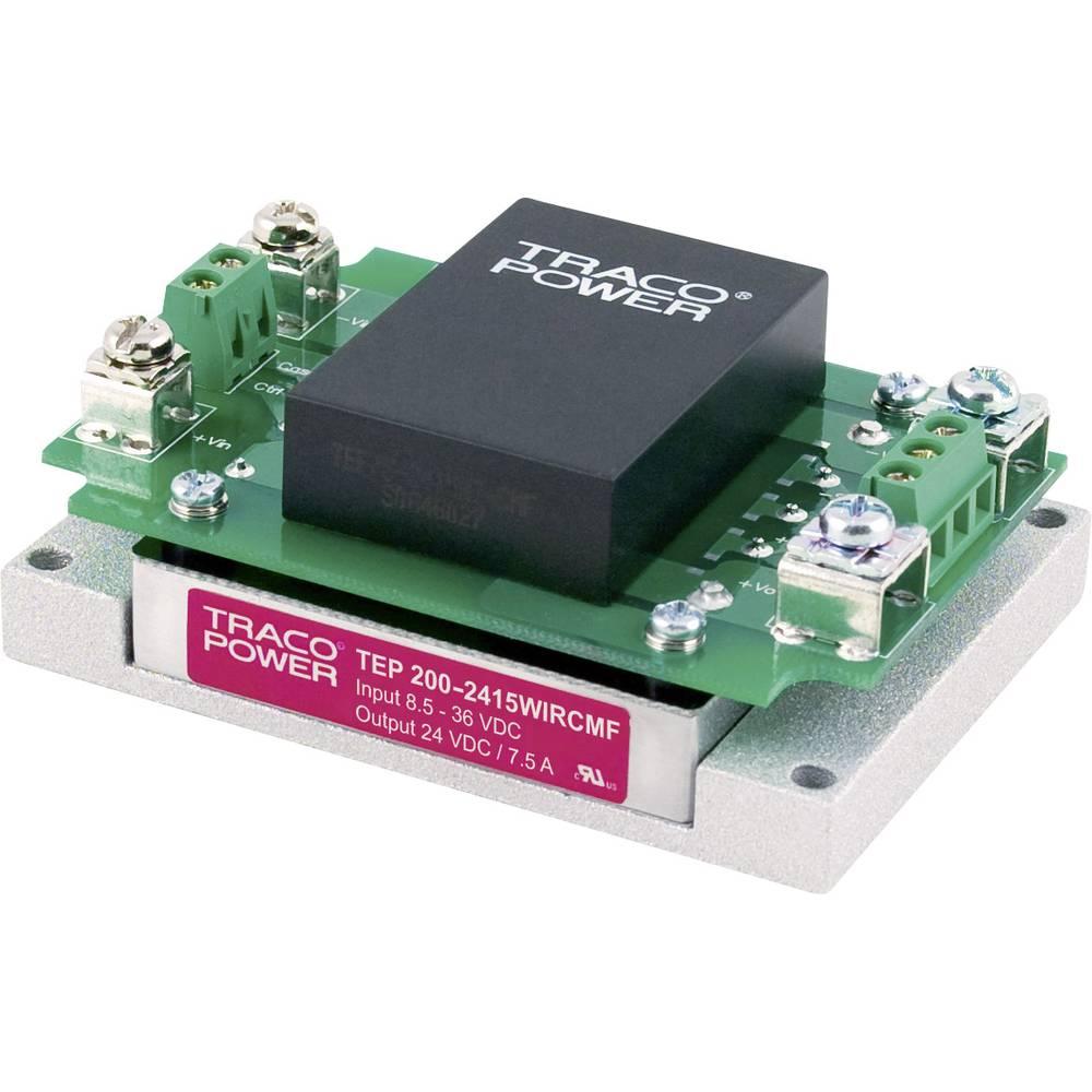 DC/DC pretvornik-modul TracoPower TEP 200-2418WIRCMF 24 V/DC 3700 mA 200 W št. izhodov: 1 x