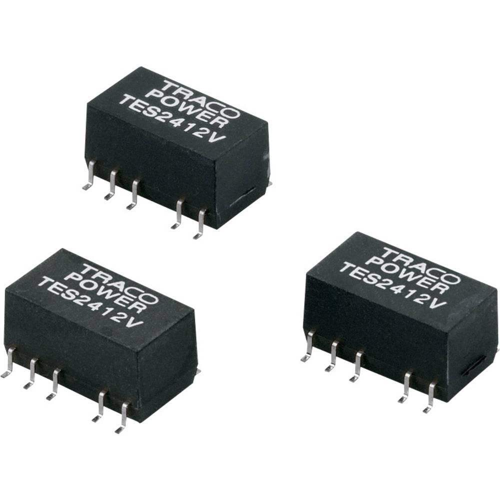 DC/DC pretvornik SMD TracoPower TES 1-2413V 24 V/DC 67 mA 1 W št. izhodov: 1 x