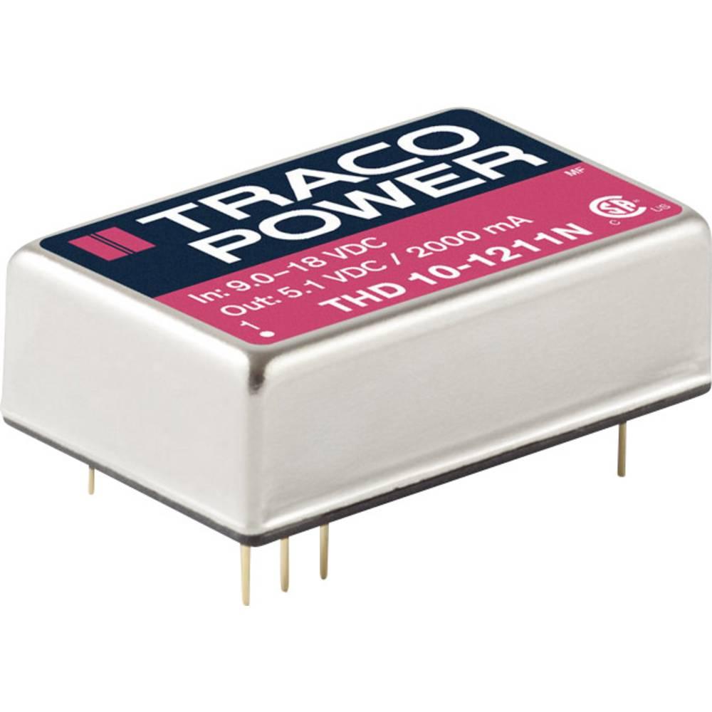 DC/DC pretvornik za tiskano vezje TracoPower THD 10-4813N 48 V/DC 666 mA 10 W št. izhodov: 1 x