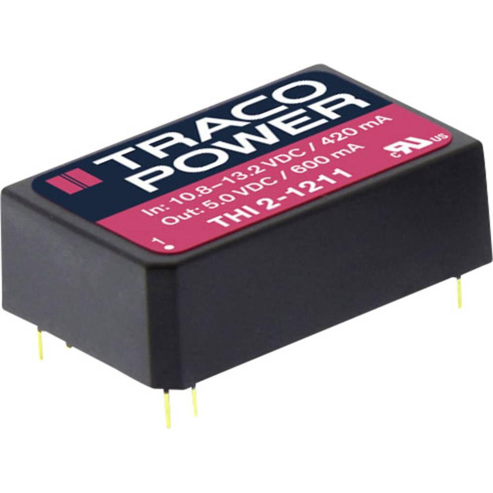 DC/DC pretvornik za tiskano vezje TracoPower THI 2413 24 V/DC 130 mA 2 W št. izhodov: 1 x