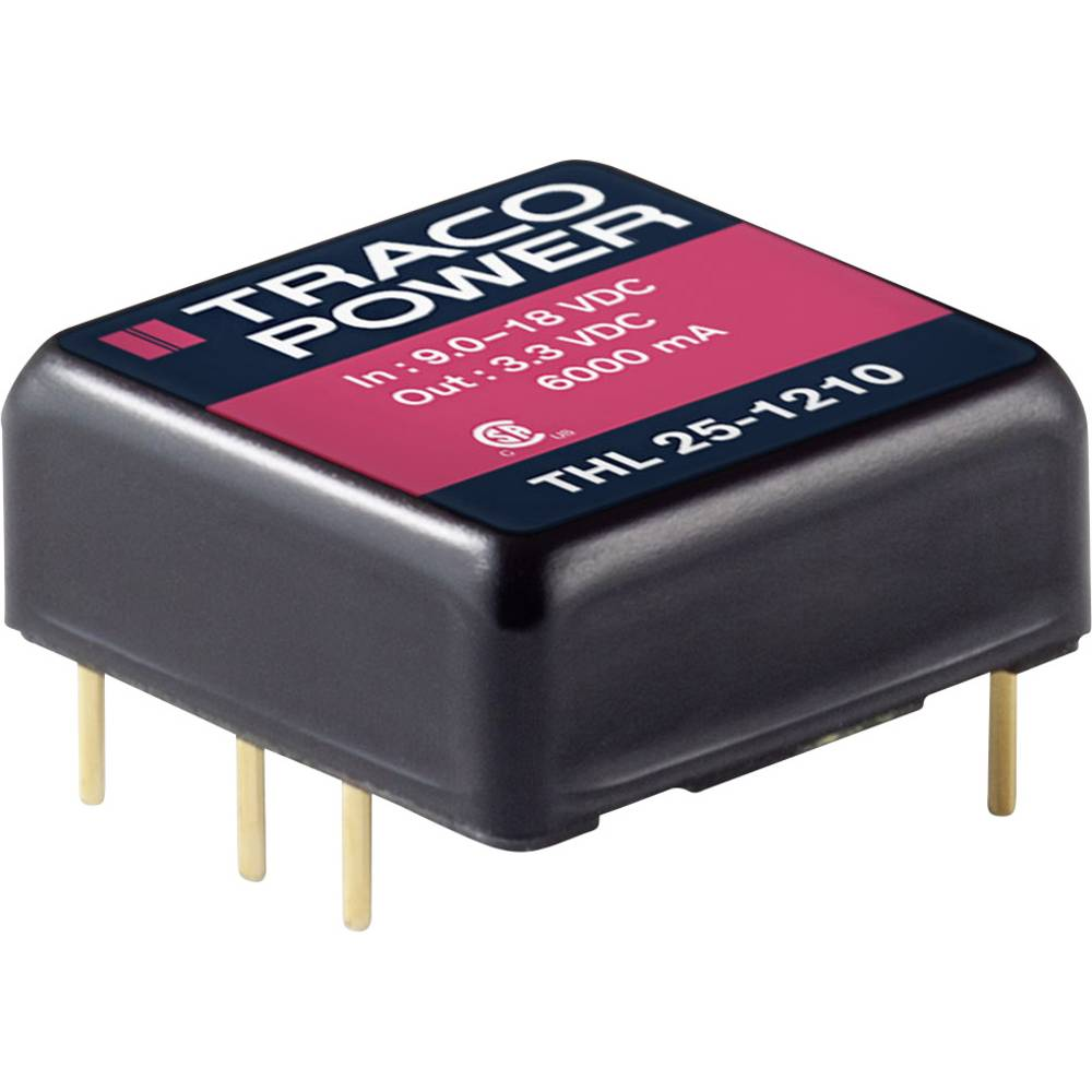 DC/DC pretvornik za tiskano vezje TracoPower THL 25-4813 48 V/DC 1670 mA 25 W št. izhodov: 1 x