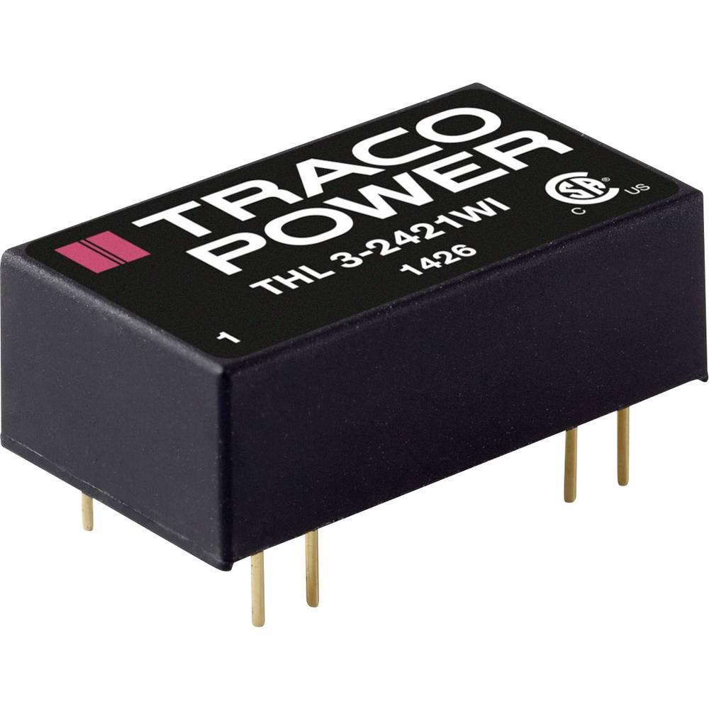 DC/DC pretvornik za tiskano vezje TracoPower THL 3-4813WI 48 V/DC 200 mA 3 W št. izhodov: 1 x