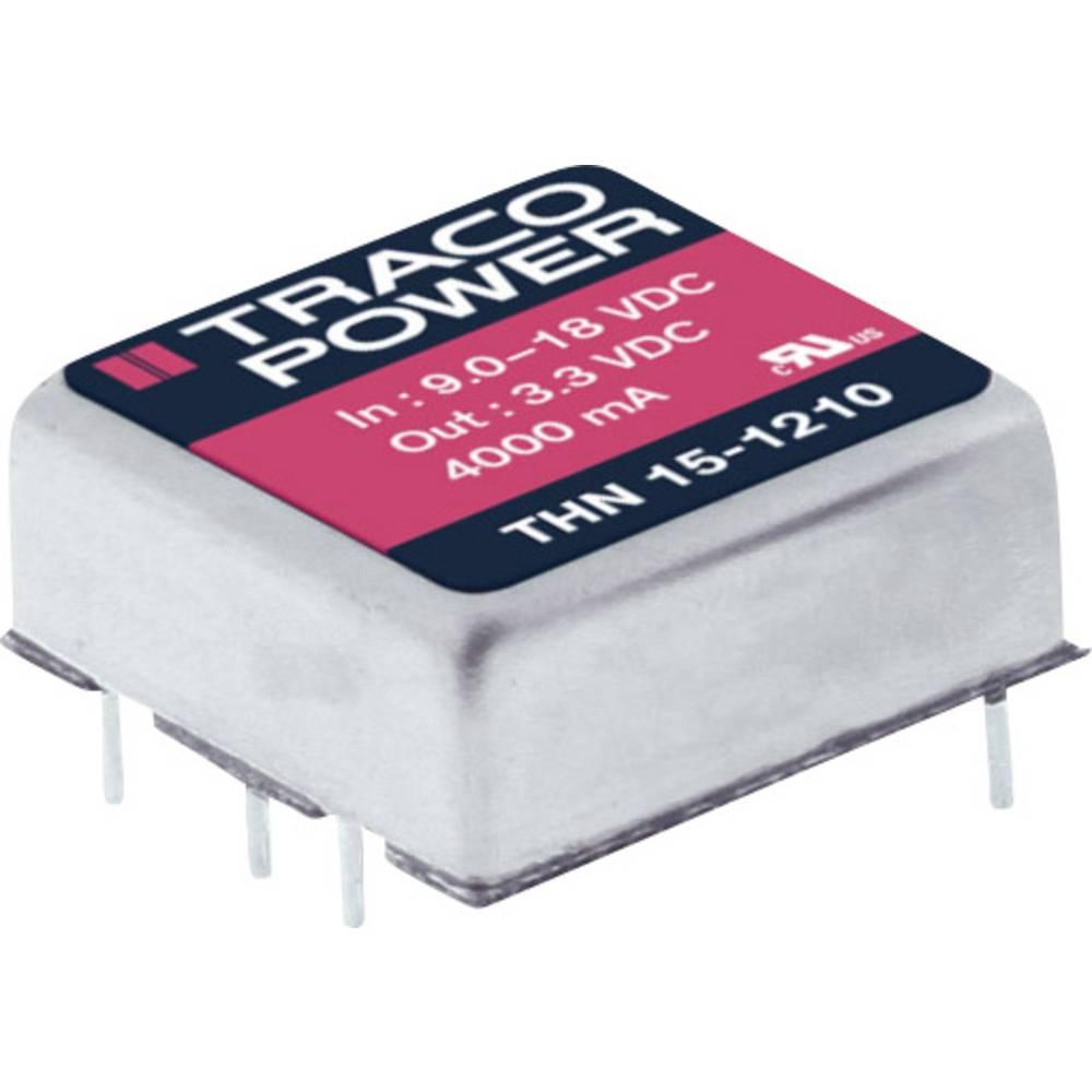 DC/DC pretvornik za tiskano vezje TracoPower THN 15-2423 24 V/DC 500 mA 15 W št. izhodov: 2 x