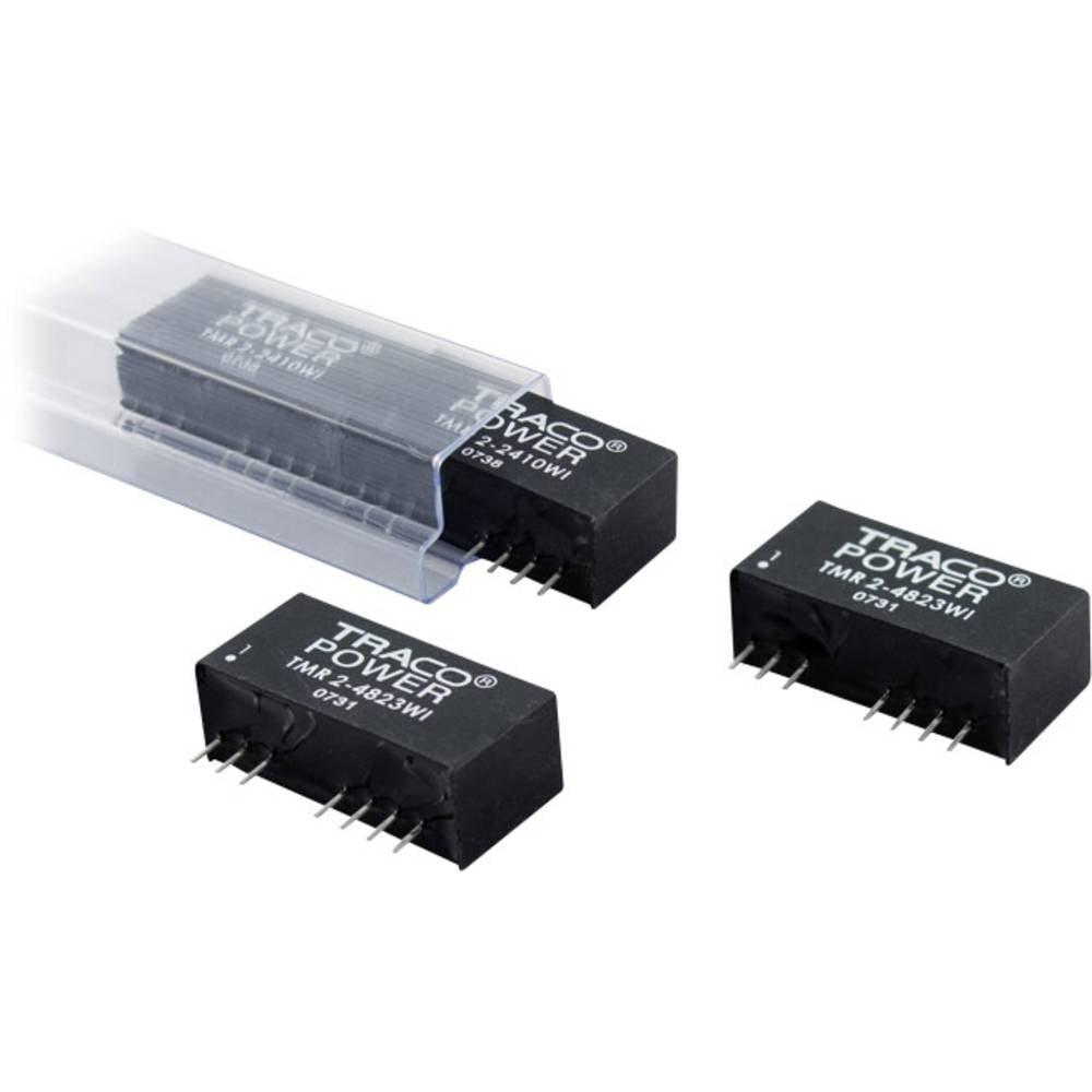 DC/DC pretvornik za tiskano vezje TracoPower TMR 2-2421WI 24 V/DC 200 mA 2 W št. izhodov: 2 x
