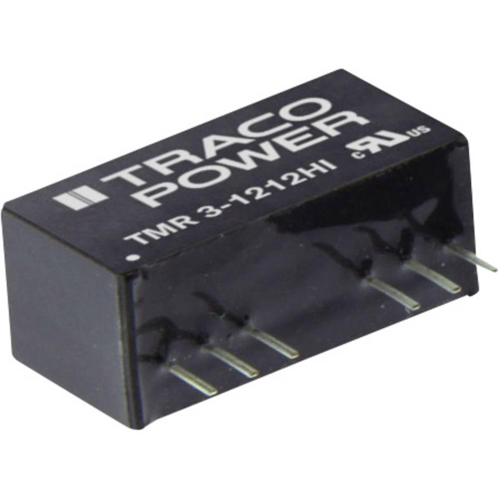 DC/DC pretvornik za tiskano vezje TracoPower TMR 3-2423HI 24 V/DC 100 mA 3 W št. izhodov: 2 x