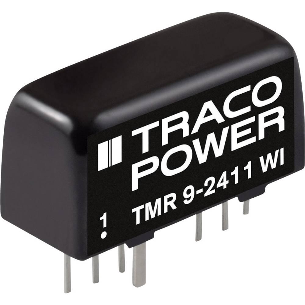 DC/DC pretvornik za tiskano vezje TracoPower TMR 9-1211 12 V/DC 1600 mA 9 W št. izhodov: 1 x