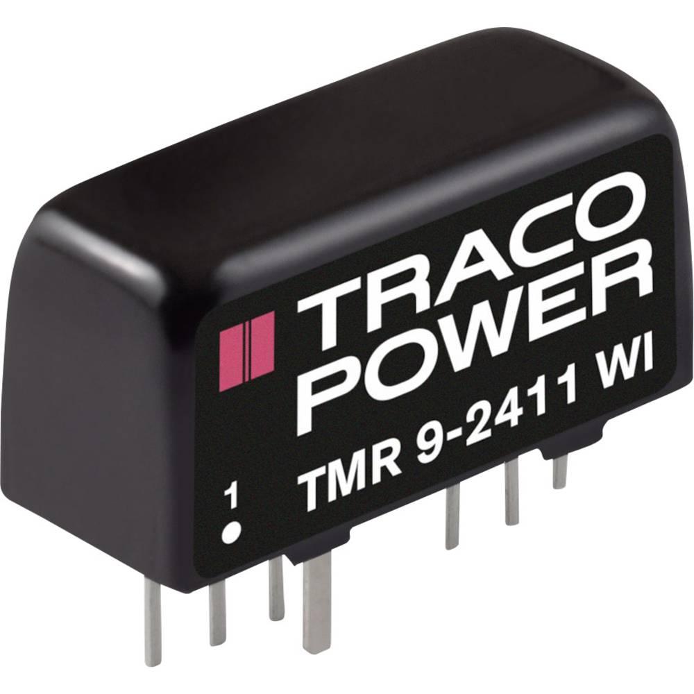 DC/DC pretvornik za tiskano vezje TracoPower TMR 9-2411WI 24 V/DC 1600 mA 9 W št. izhodov: 1 x