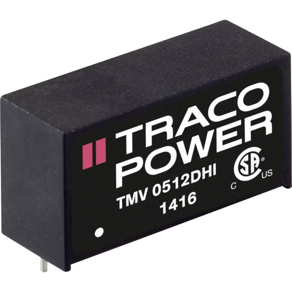 DC/DC pretvornik za tiskano vezje TracoPower TMV 2409DHI 24 V/DC 56 mA 2 W št. izhodov: 2 x