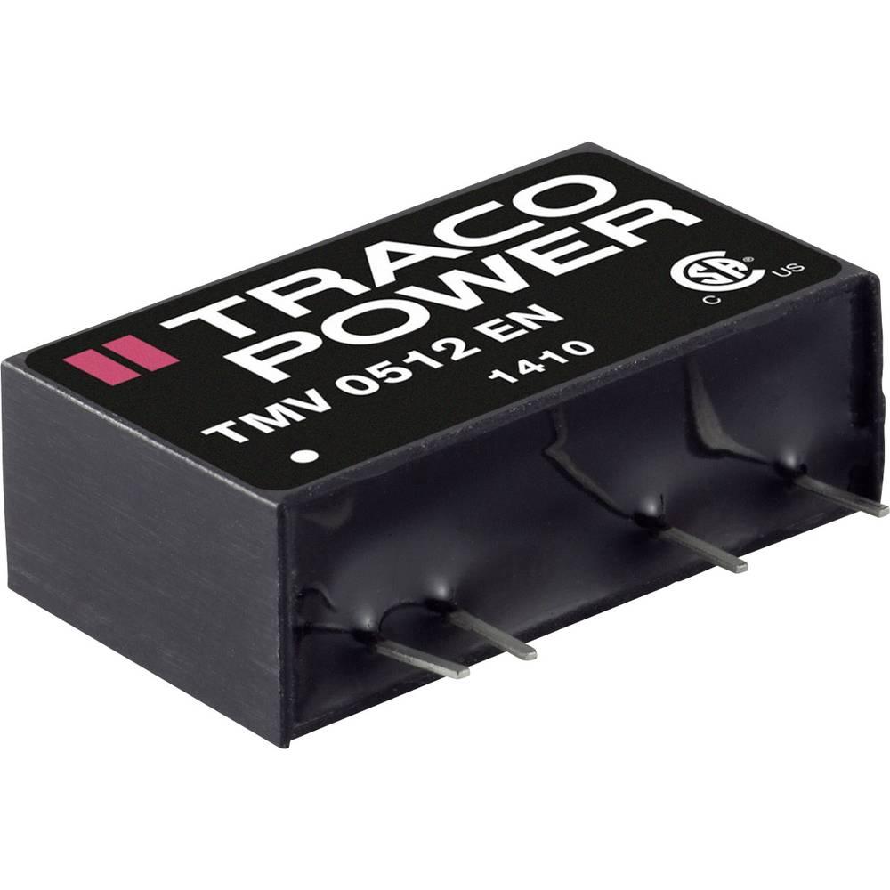DC/DC pretvornik za tiskano vezje TracoPower TMV 0505DEN 5 V/DC 100 mA 1 W št. izhodov: 2 x