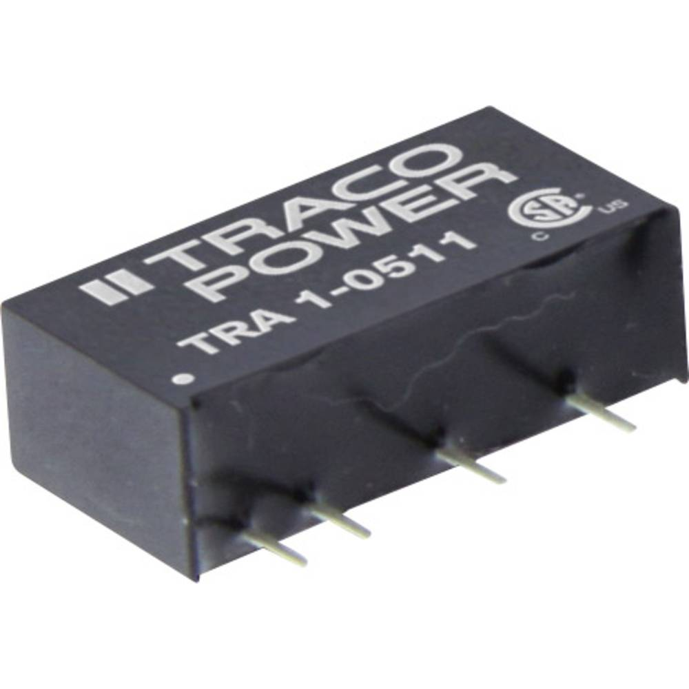 DC/DC pretvornik za tiskano vezje TracoPower TRA 1-0521 5 V/DC 100 mA 1 W št. izhodov: 2 x