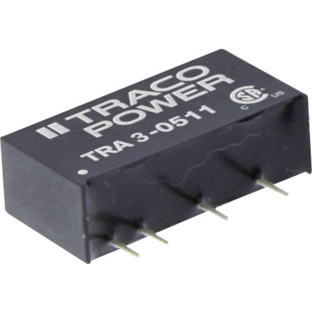 DC/DC pretvornik za tiskano vezje TracoPower TRA 3-1219 12 V/DC 333 mA 3 W št. izhodov: 1 x