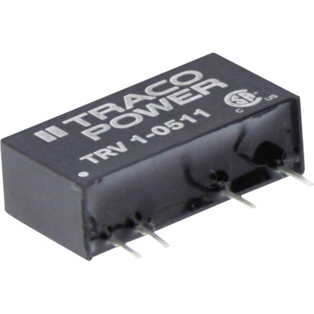 DC/DC pretvornik za tiskano vezje TracoPower TRV 1-0512 5 V/DC 84 mA 1 W št. izhodov: 1 x