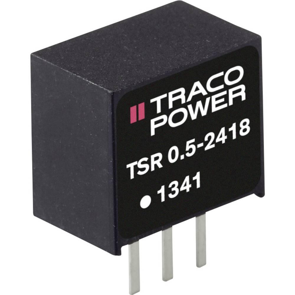 DC/DC pretvornik SMD TracoPower TSR 0.5-2418SM 24 V/DC 500 mA št. izhodov: 1 x