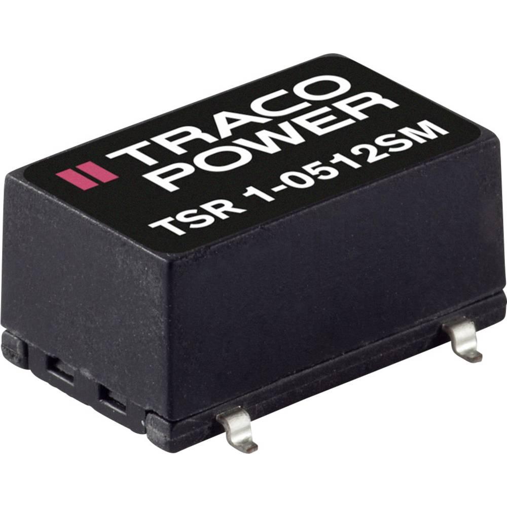 DC/DC pretvornik SMD TracoPower TSRN 1-24150SM 24 V/DC 1000 mA št. izhodov: 1 x