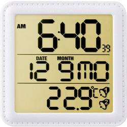 Radijski kontrolirana budilica Eurochron bijeli Broj alarma:2